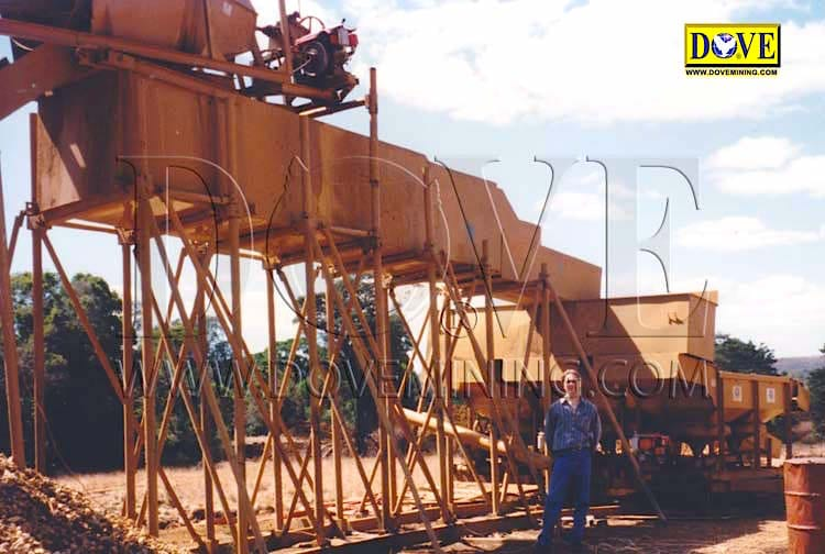 DOVE Sapphire processing plant in Madagascar