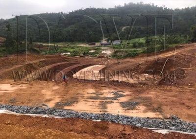 Malaysia mining site