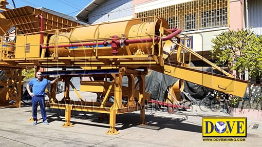 Trommel for Malaysia mining project