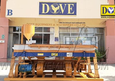 DOVE dry concentrating system, dry table