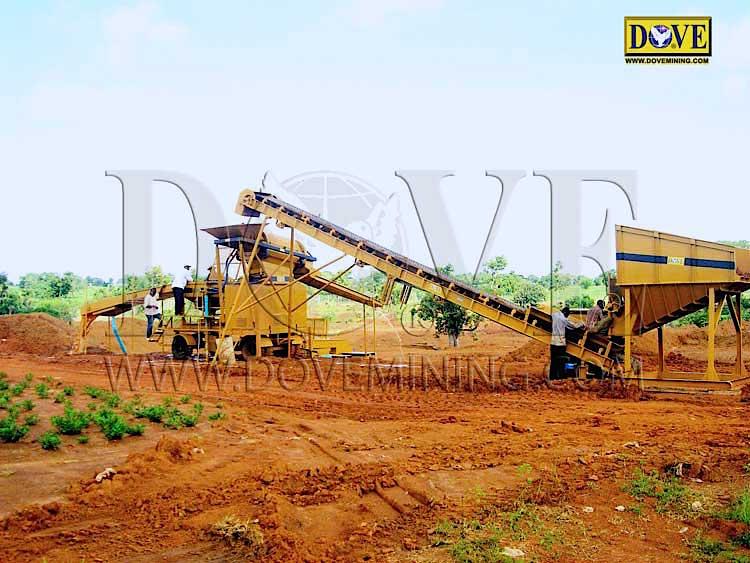 DOVE gold and diamond plant in Sierra Leone