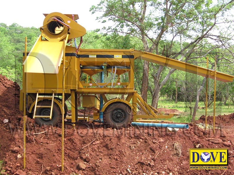 Small gold mining equipment for Sudan project 2007