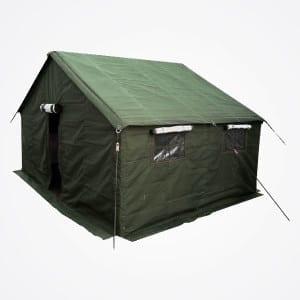 Military tent fot mining camp