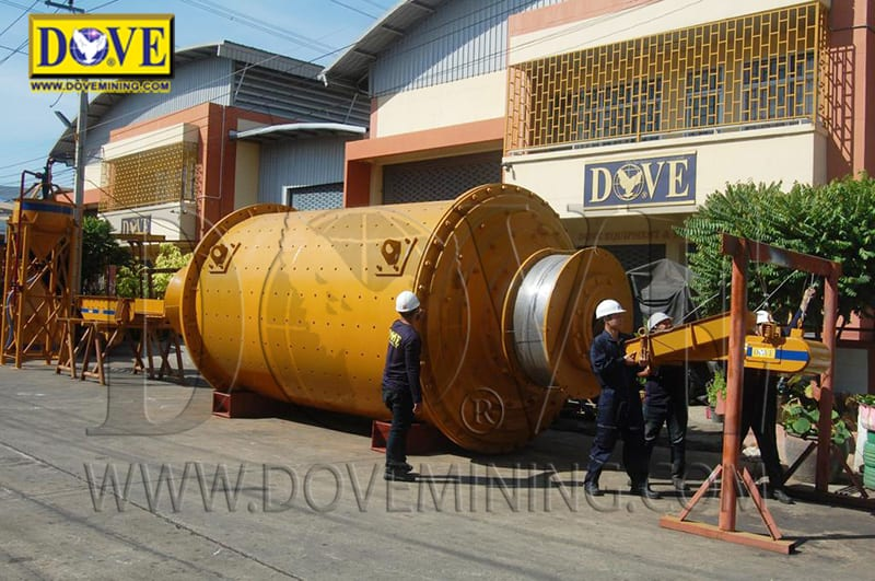 DOVE Ball Mill in the factory