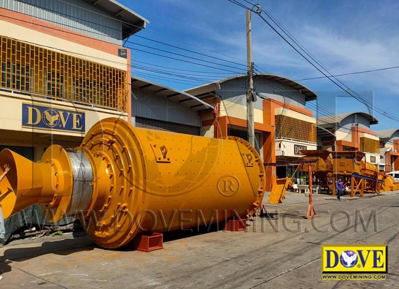 DOVE Ball mill at the factory