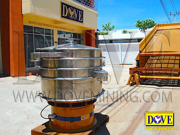 DOVE Sieve Separator at the Factory