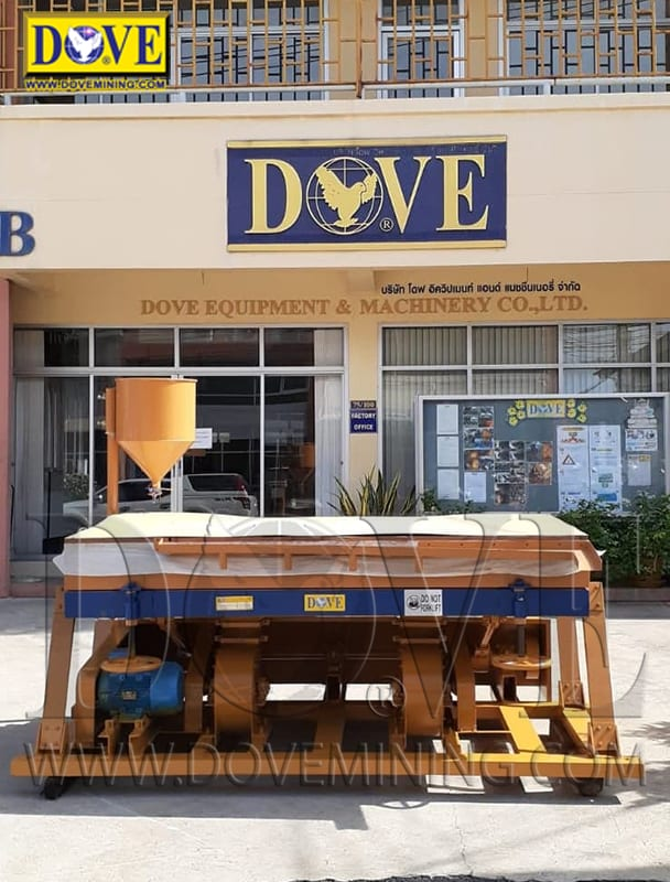 DOVE dry concentrator for DRC