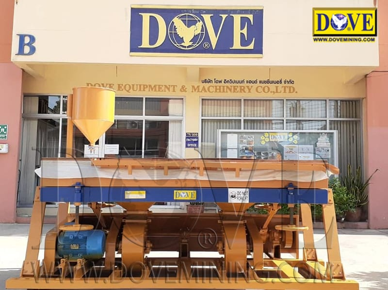 DOVE dry concentrator Dry Table