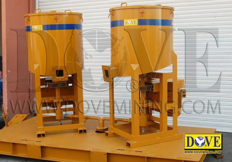 DOVE centrifugal concentrators