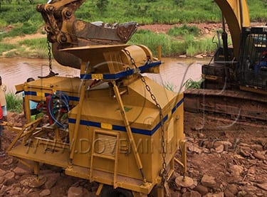 DOVE Equipment for Angola diamond project