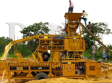 DOVE Equipment for Sudan gold mining project