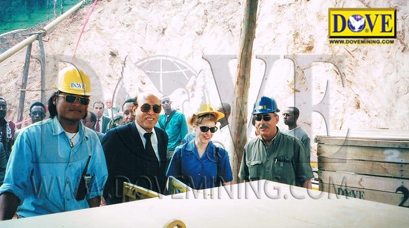 DOVE Rwanda Project opening