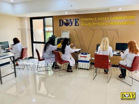 DOVE Minerals Assay Laboratory