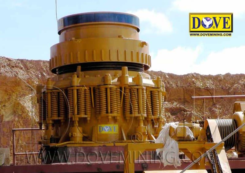DOVE cone crusher for hard rock plant, hard rock mining equipment