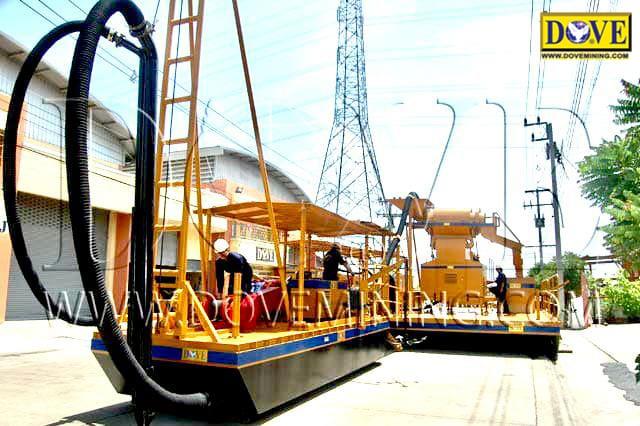 DOVE dredging equipment