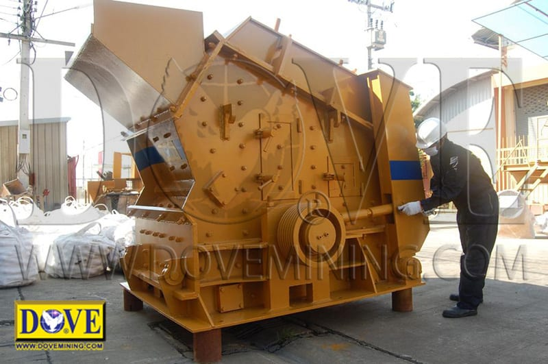 DOVE impact crusher in the factory