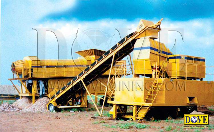 Desertminer dry processing plant