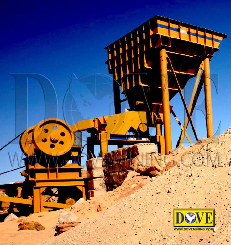 Goldrockminer hard rock plant