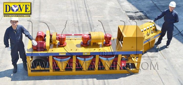 High intensity magnetic separator DOVE