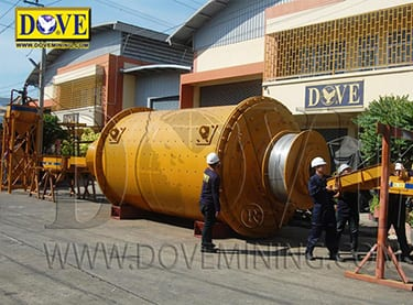 DOVE Ball Mill, Niger 2020 project