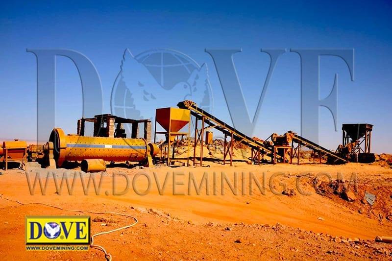 DOVE Goldrockminer hard rock gold mining equipment