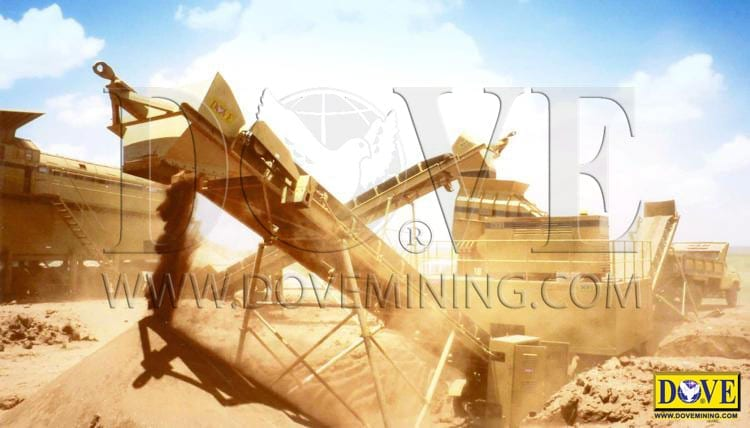 DOVE Desertminer dry processing plant