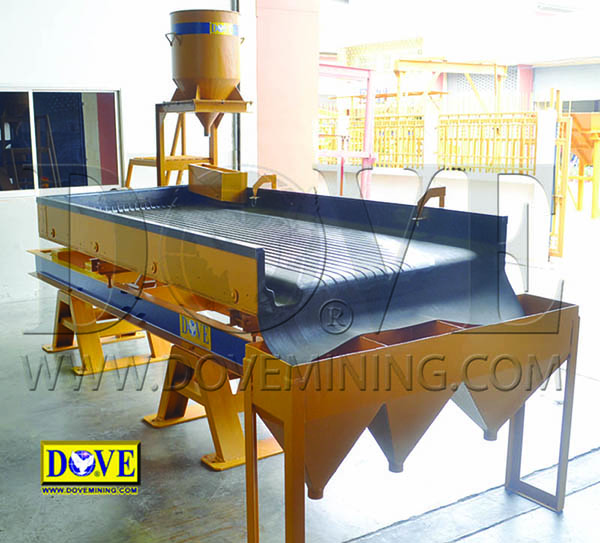 DOVE Shaking Table, Gold Concentrating Table