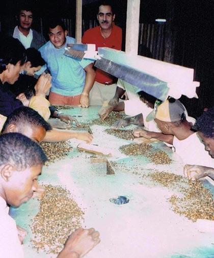 DOVE mining projects Madagascar precious stones