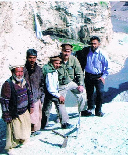 DOVE mining projects Pakistan Afghanistan