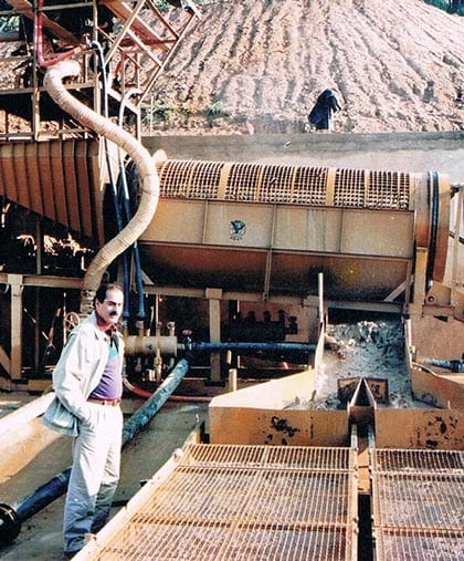 DOVE mining projects Vietnam Nghe an