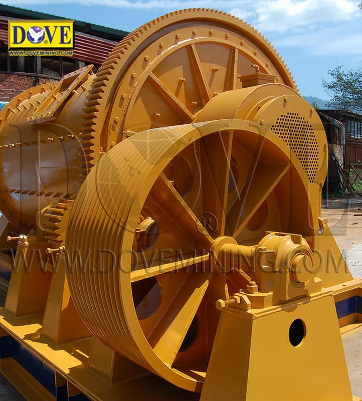 DOVE ball mill for hard rock