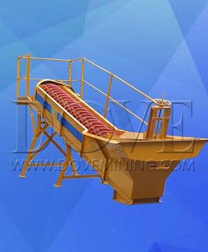 DOVE mining equipment spiral classifier