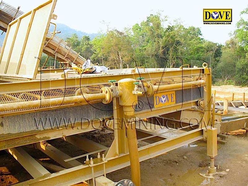 DOVE Alluvial mining equipment in Indonesia 2009