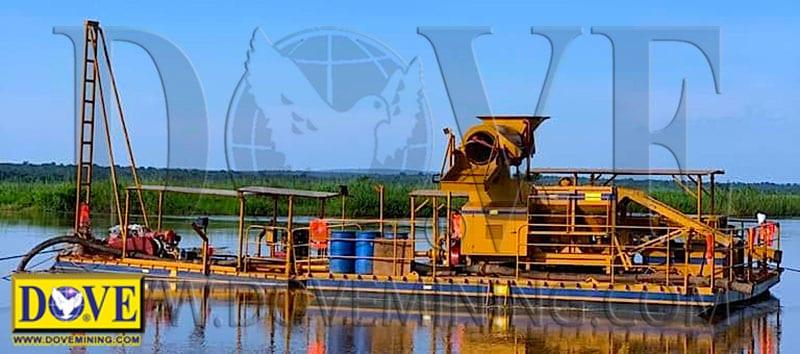 DOVE RIVERMINER® in Angola