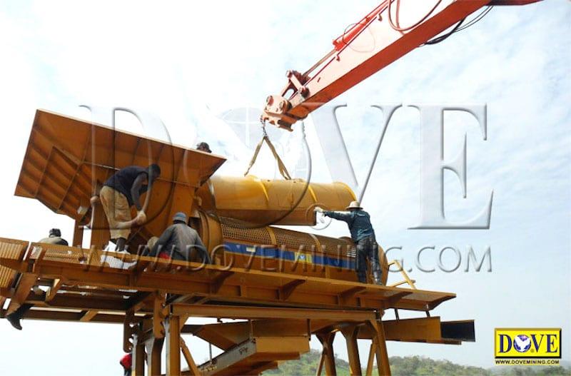 Guinea 2012 Alluvial Portable Diamond Plant