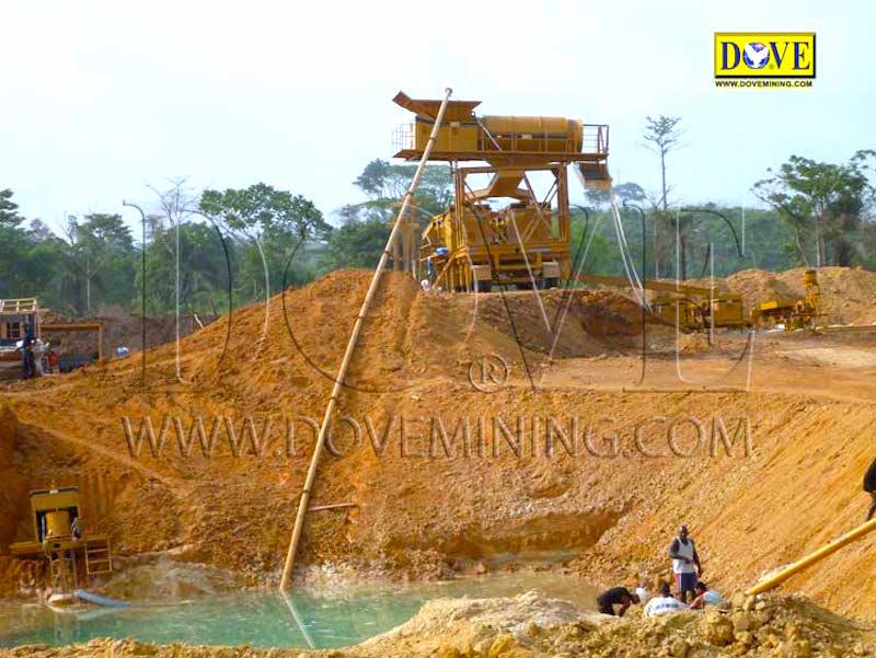 Liberia gold and diamond mining project 2009