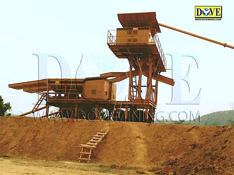 Gold and diamond mining in Liberia in 2009