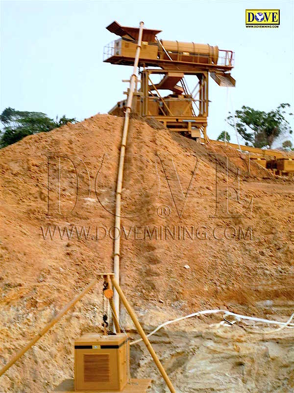 Liberia gold and diamond mining 2009