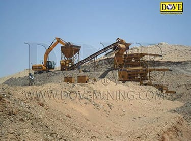 Alluvial gold mining equipment for Sudan