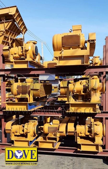 Gold mining equipment