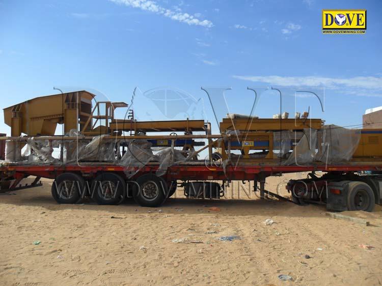 Alluvial gold mining project in Sudan