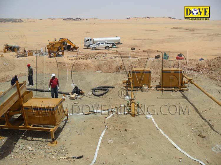 Gold mining project in Sudan