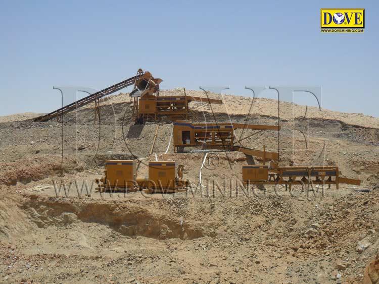DOVE gold mining equipment