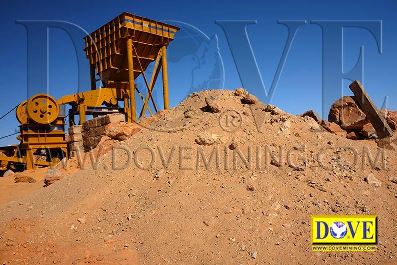 Hard Rock Mine in Sudan