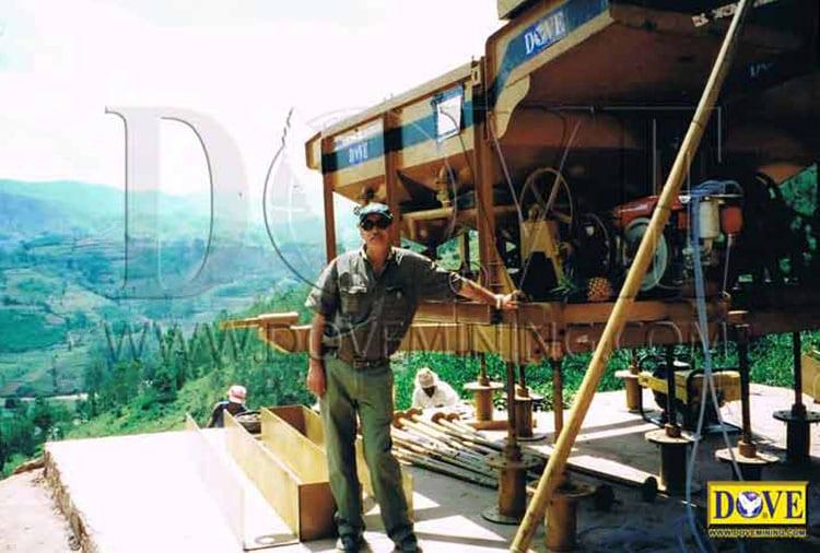DOVE tantalum and niobium mining project in Rwanda