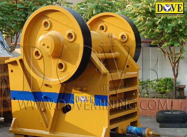 Jaw Crusher at DOVE Factory