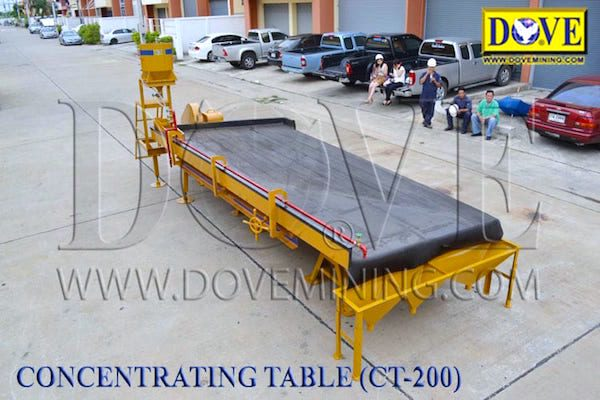 DOVE CT-200 Concentrating Table